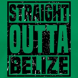 Straight Outta Belize - Men's Premium T-Shirt