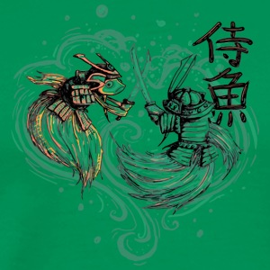 Japanese Fighting Fish Remix - Men's Premium T-Shirt