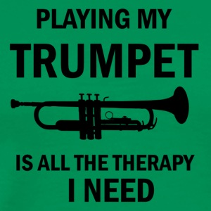 trumpet design - Men's Premium T-Shirt