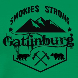 Smokies Strong for Gatlinburg t shirt - Men's Premium T-Shirt