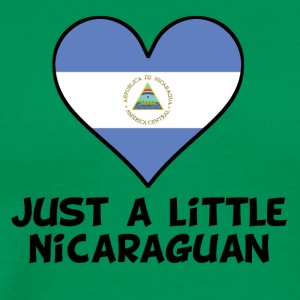 Just A Little Nicaraguan - Men's Premium T-Shirt