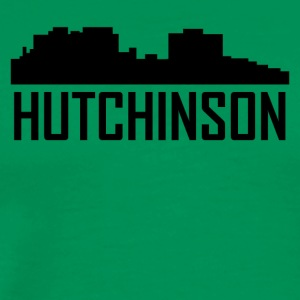 Hutchinson Kansas City Skyline - Men's Premium T-Shirt