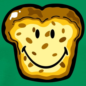 SmileyWorld Smiling Cake Bread - Men's Premium T-Shirt