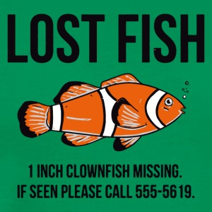 Lost Fish - Men's Premium T-Shirt
