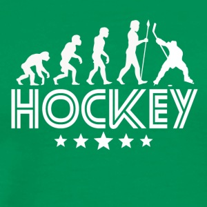 Retro Hockey Evolution - Men's Premium T-Shirt