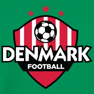 Denmark Football Emblem - Men's Premium T-Shirt