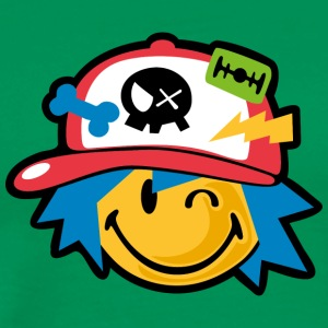 SmileyWorld Kawaii Boy Smiley - Men's Premium T-Shirt