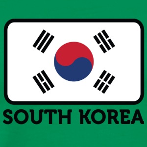 National Flag Of South Korea - Men's Premium T-Shirt