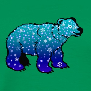 polar bear eisbaer nordpol north pole alaska5 - Men's Premium T-Shirt