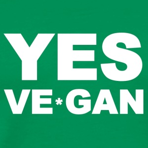 Yes Ve*Gan - Men's Premium T-Shirt