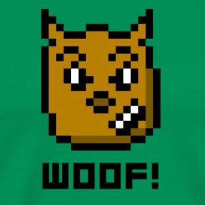 WOOF! - Men's Premium T-Shirt