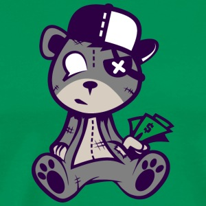 Teddy bear is out of money - Men's Premium T-Shirt