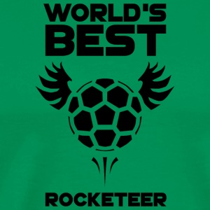 World's Best Rocketeer Black - Men's Premium T-Shirt
