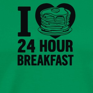 24 Hour Breakfast - Men's Premium T-Shirt