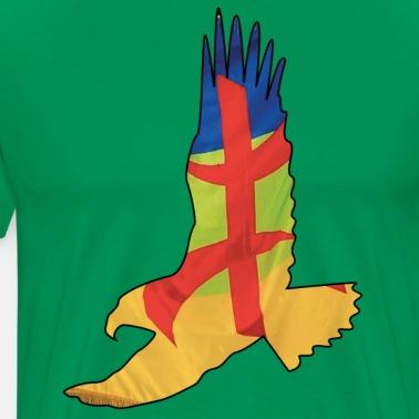 Amazigh Flag Eagle Patriotic T-Shirt Women's T-Shirt - white