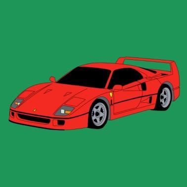 05634b046992 Supercar F40 red - Men s Premium T-Shirt