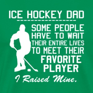 Proud Ice Hockey Dad T Shirt