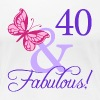 Fabulous 40th Birthday - Women's Premium T-Shirt