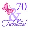 Fabulous 70th Birthday - Women's Premium T-Shirt