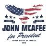 John McAfee for president 2016 - Women's Premium T-Shirt