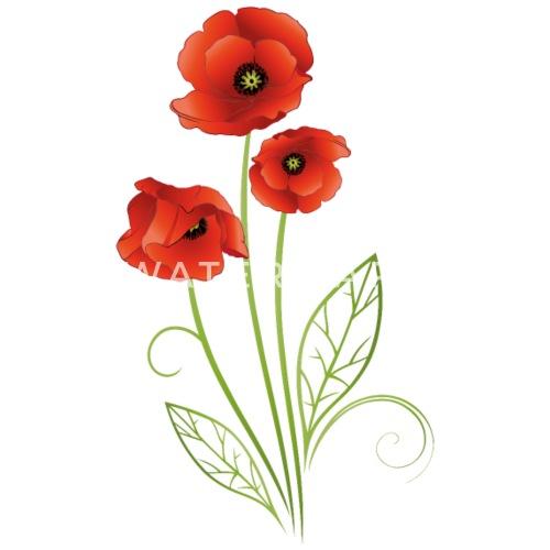 Summer flower red poppies flower by christine krahl spreadshirt red poppies flower by christine krahl spreadshirt mightylinksfo