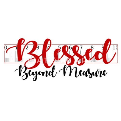 Blessed Beyond Measure T-Shirt Women s Premium T-Shirt  a9c3e7ea7ae6
