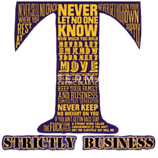 10 CRACK COMMANDMENTS STRICTLY BUSINESS Women's Premium T-Shirt