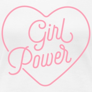 Girl Power Love - Women's Premium T-Shirt