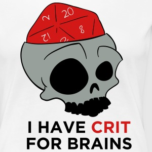 Crit For Brains - Women's Premium T-Shirt
