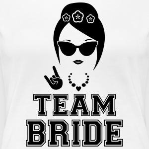Team bride bachelorette party shirt - Women's Premium T-Shirt