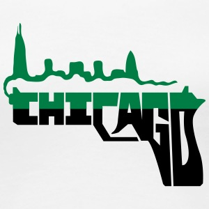smoking gun Chicago - Women's Premium T-Shirt