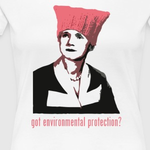 Rachel Carson - got environmental protection? - Women's Premium T-Shirt