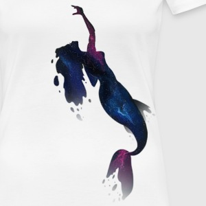 Galaxy Mermaid - Women's Premium T-Shirt