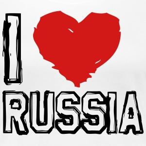 I LOVE RUSSIA! - Women's Premium T-Shirt