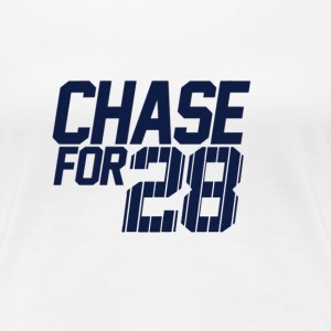 Chase For 28 - Women's Premium T-Shirt