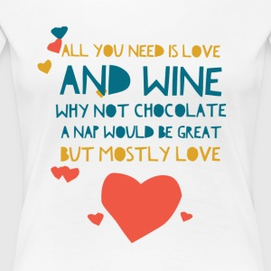 All You need is love - Women's Premium T-Shirt