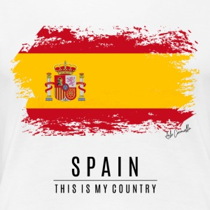 SPAIN FLAG - THIS IS MY COUNTRY - Women's Premium T-Shirt