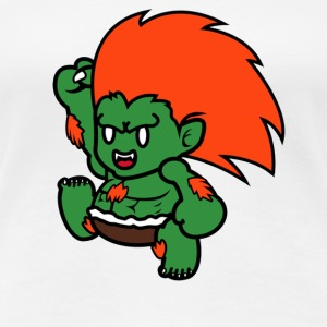 Cute Blanka - Women's Premium T-Shirt