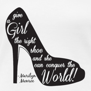 Marilyn monroe shoe - Women's Premium T-Shirt