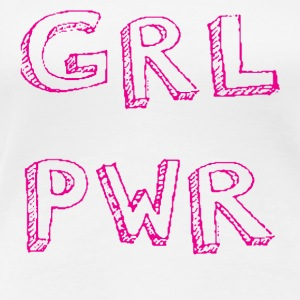 GIRL PWR in pink - Women's Premium T-Shirt