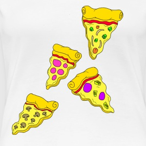 Funky Pizza's - Women's Premium T-Shirt