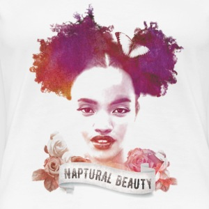Afro Puffs Girl - Women's Premium T-Shirt