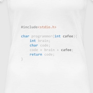 The Programmer function - Women's Premium T-Shirt