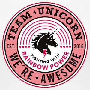 Team Unicorn - Women's Premium T-Shirt
