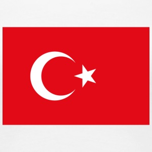 National Flag Of Turkey - Women's Premium T-Shirt