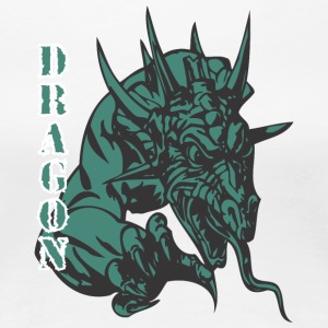 dragon_with_thorms_color - Women's Premium T-Shirt