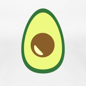 Huge Avocado Guacamole Food Porn Design - Women's Premium T-Shirt