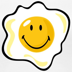 SmileyWorld Smiling Fried Egg - Women's Premium T-Shirt