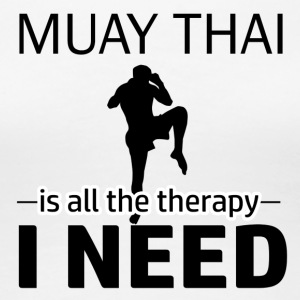 muay thai design - Women's Premium T-Shirt