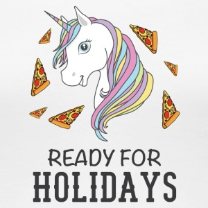 Ready for holidays Unicorn - Women's Premium T-Shirt